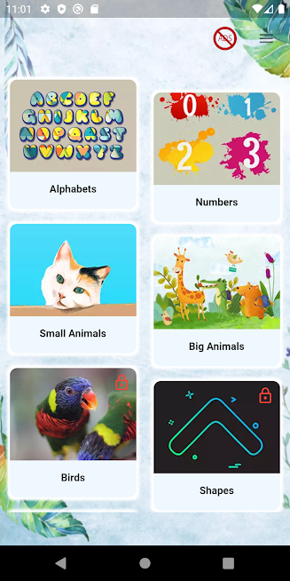 Kinder Words - Free learning flashcards for kids