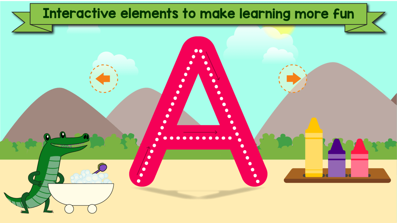 Learn to Write: Toddlers Educational Games