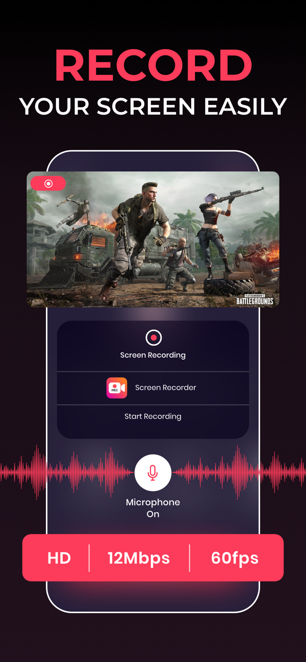 Screen Recorder for iPhone
