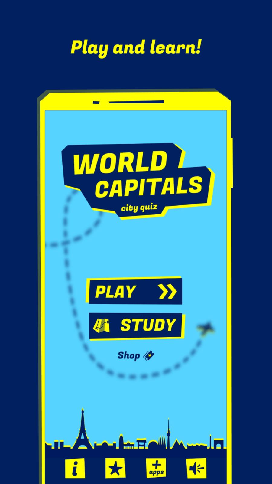 World Capitals: City Quiz