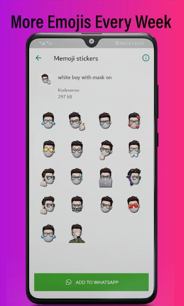 Best & Amazing Memoji Stickers for Whatsapps