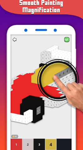 DIY Classic Pixal puzzles: Offline Block Coloring