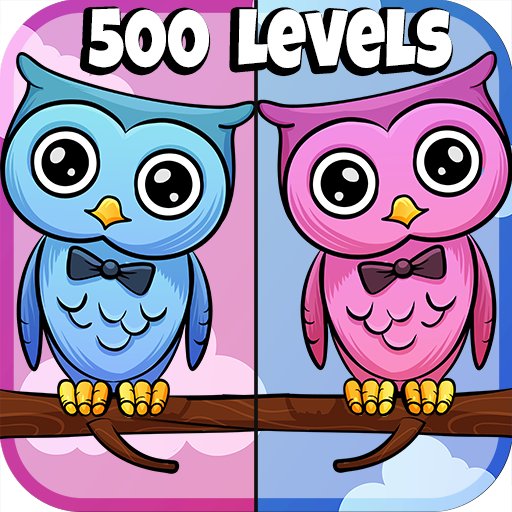 Find The Differences Game 500 levels