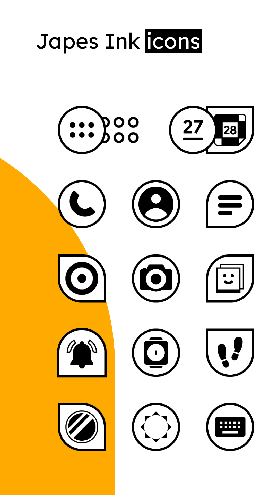 Japes Ink - HD icon pack