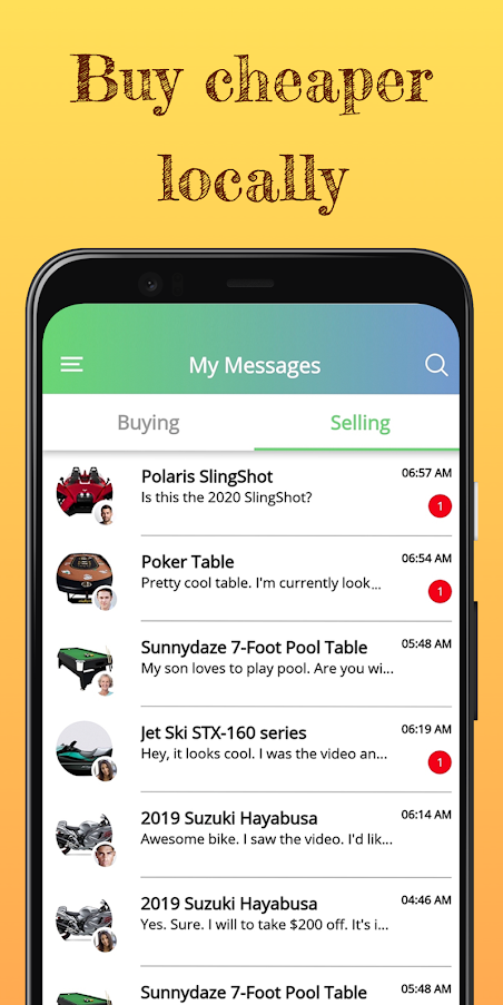 LookPrior Marketplace -  Record. Post. Sell Locally