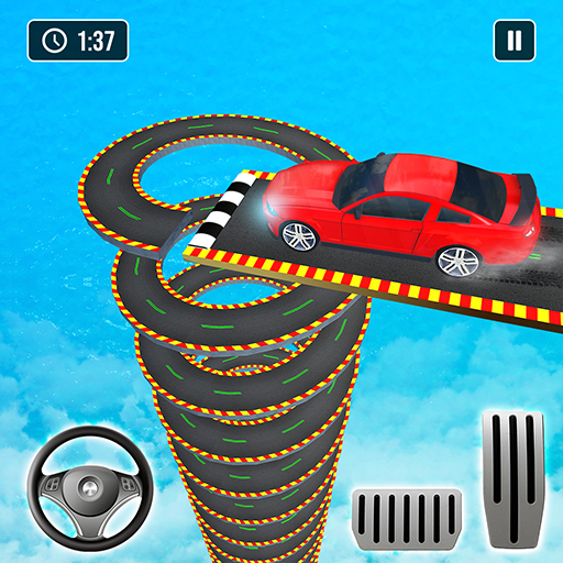 Mega Ramp Car Stunt game