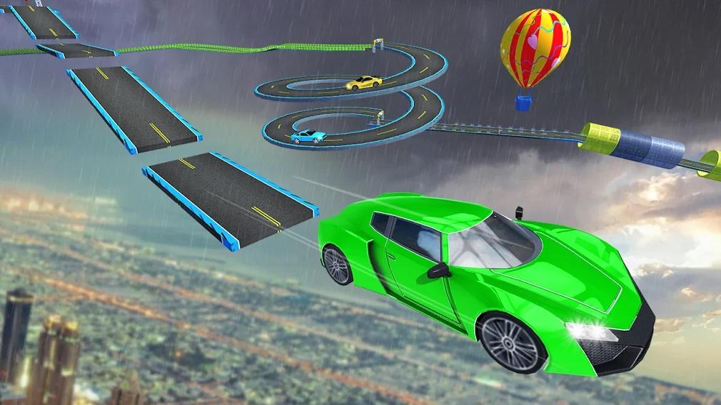 Mega Ramp Car Stunt game