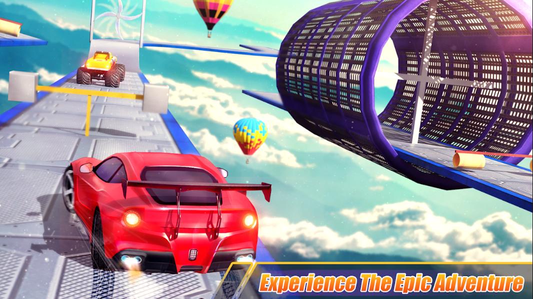Mega Ramps Ultimate Car Jumping - Impossible Drive