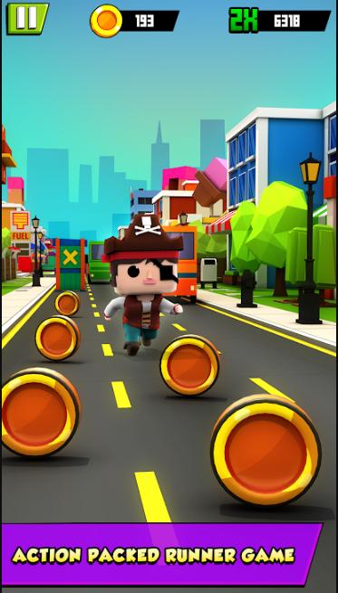 Subway Kiddy Runner: Prince Run