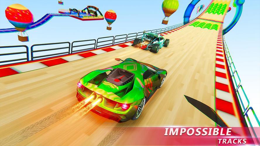 Mega Ramp Car Stunt Game 3d