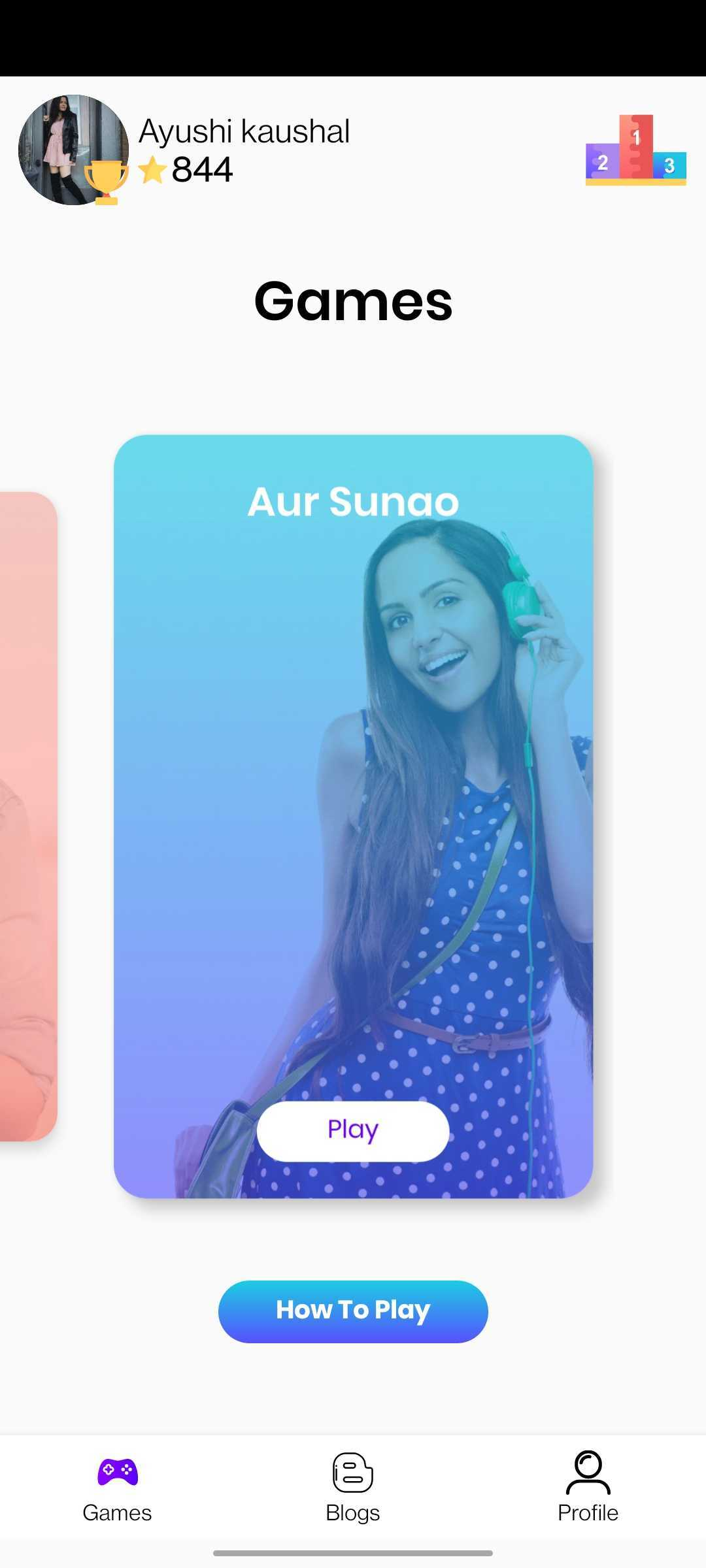 GaanaP - Games for Bollywood Music Fans