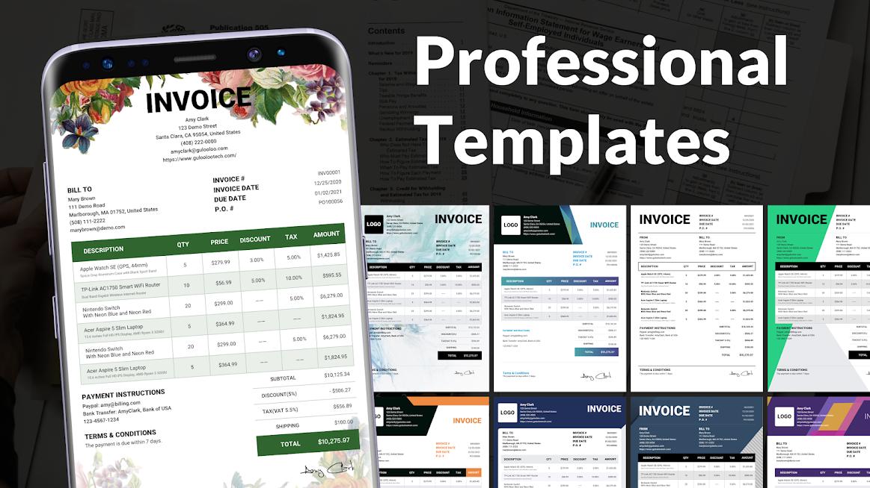 Invoice Maker - Easy Estimate Maker & Invoice App