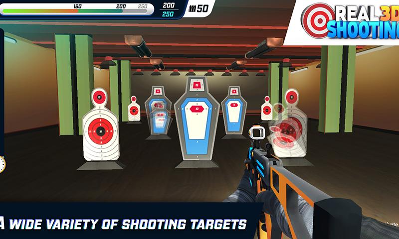 Real Shooting games