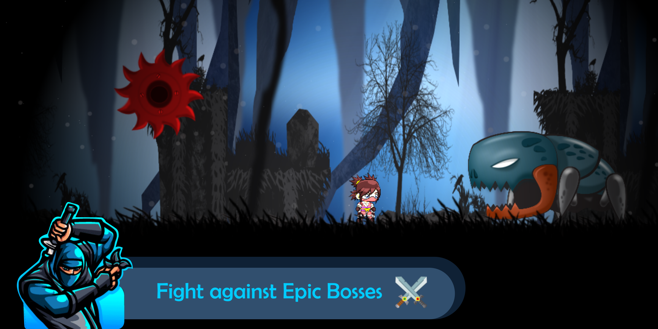 Zombie Invasion : 2D Action Platformer