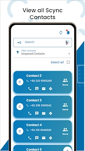 Contacts Backup: Data Recovery, Transfer & Restore