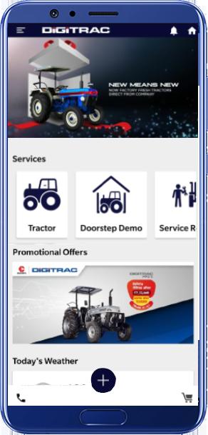 Digitrac - Farm Tractor, Equipments, Spare Parts