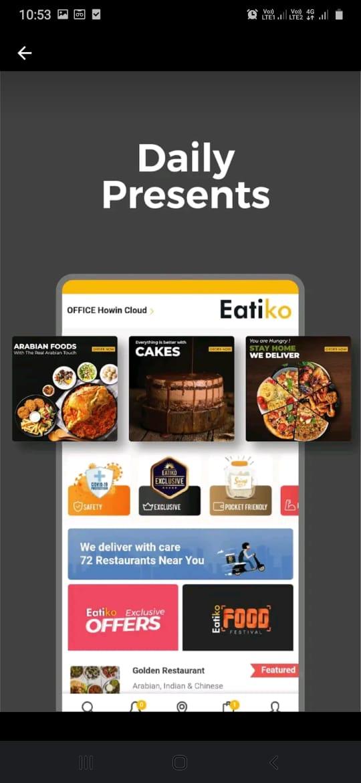 Eatiko - Food Delivery & Restaurant Finder