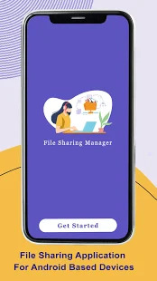 File manager: Transfer files - copy and share data