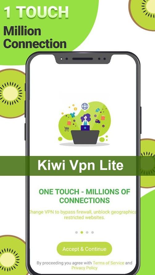 Kiwi VPN Lite - VPN connection proxy changer app