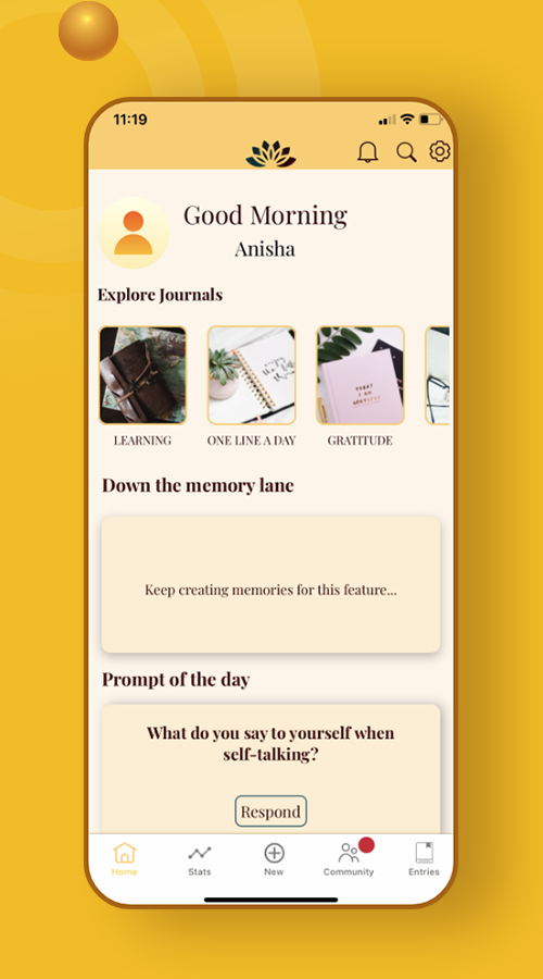 Mind Alcove: Your Personal Digital Space to Pen Down your Thoughts
