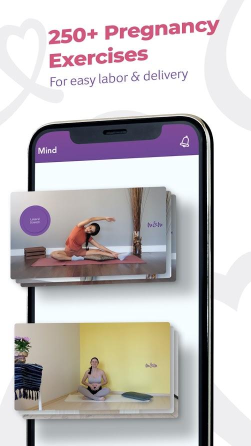 Mind&Mom;: Pregnancy Tracking App, Guide, Diet Plan