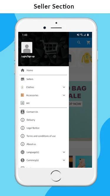 Nautica OpenCart Marketplace Mobile App