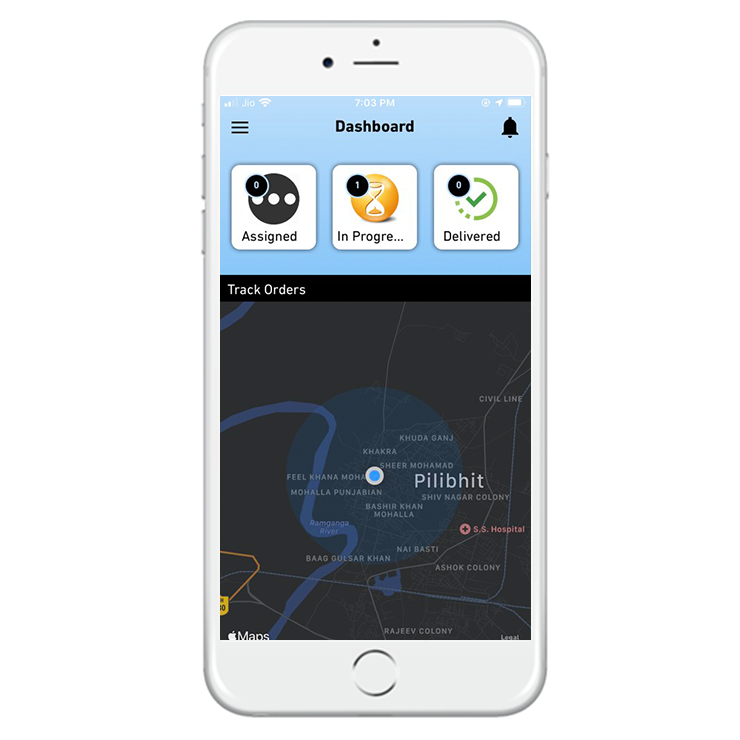 OpenCart Delivery Boy App