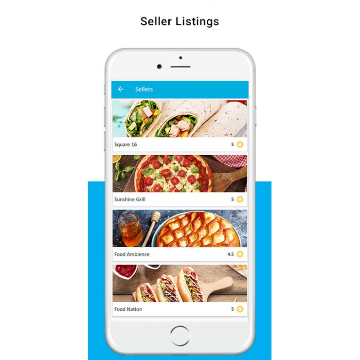 PrestaShop Hyperlocal Marketplace Mobile App