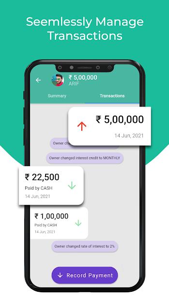 Byaj Book - Interest Calculator, Loan Management