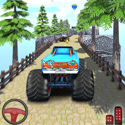 Fearless giant Monster cyber Truck game