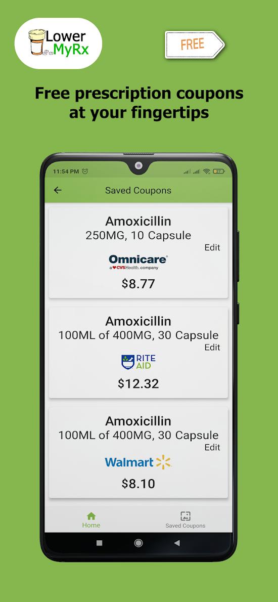 LowerMyRx: Prescription Coupons