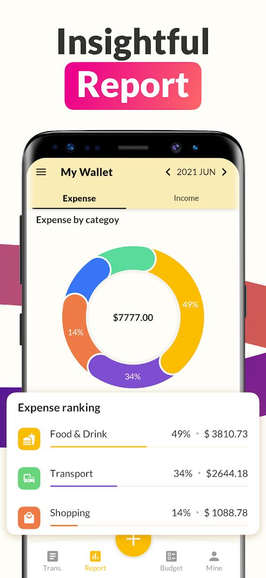 Money Tracker: Expense Tracker, Wallet, Budget App