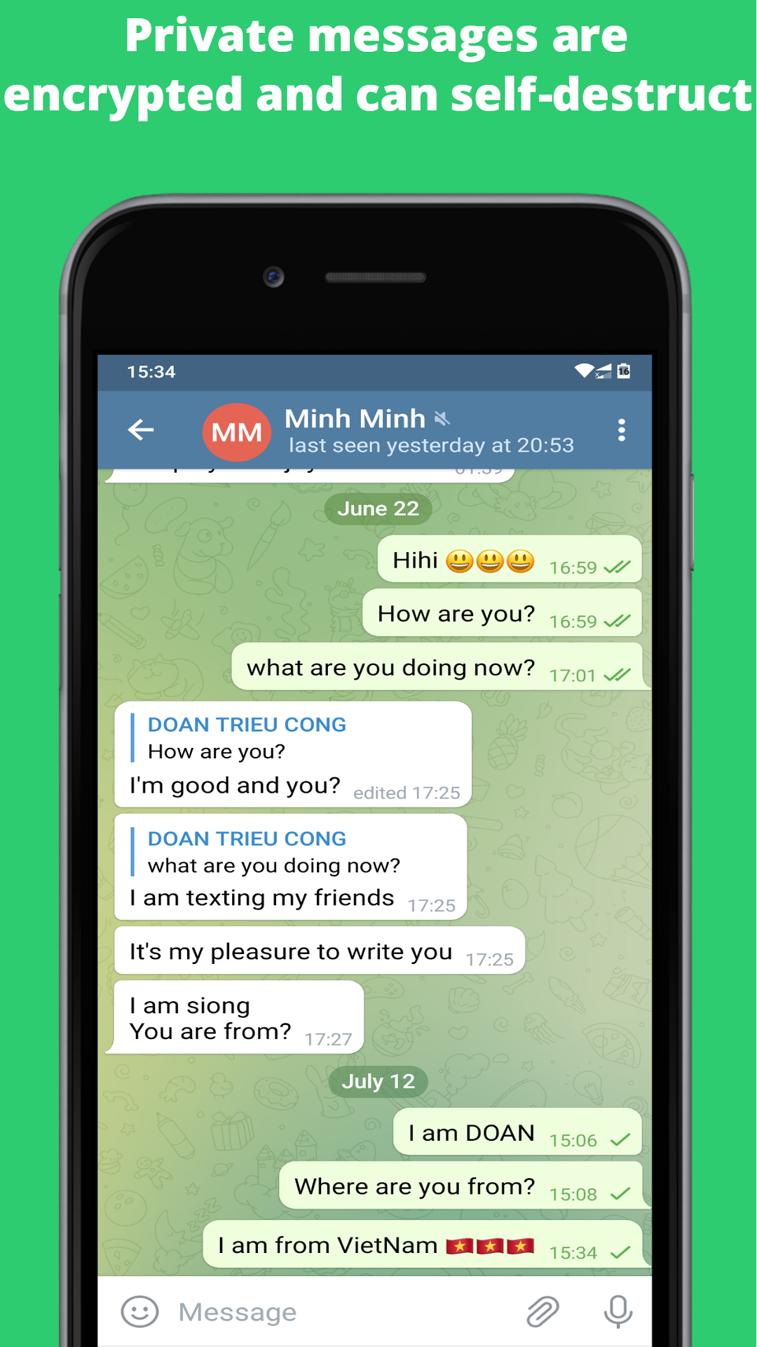 Video chat: Free group chat & voice and video call