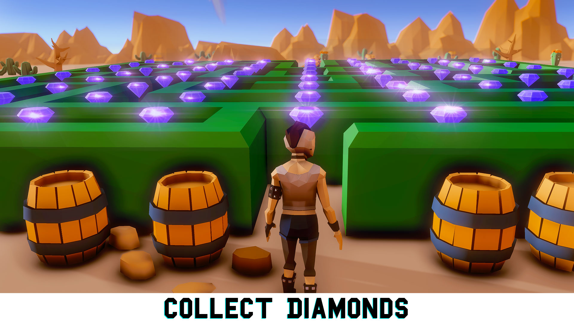 3D Maze Labyrinth Adventure