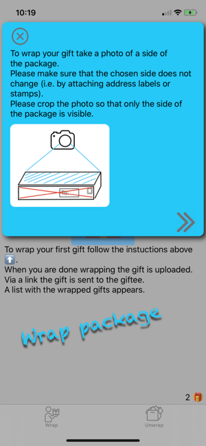 AR Wrap - Gift Wrap in Augmented Reality