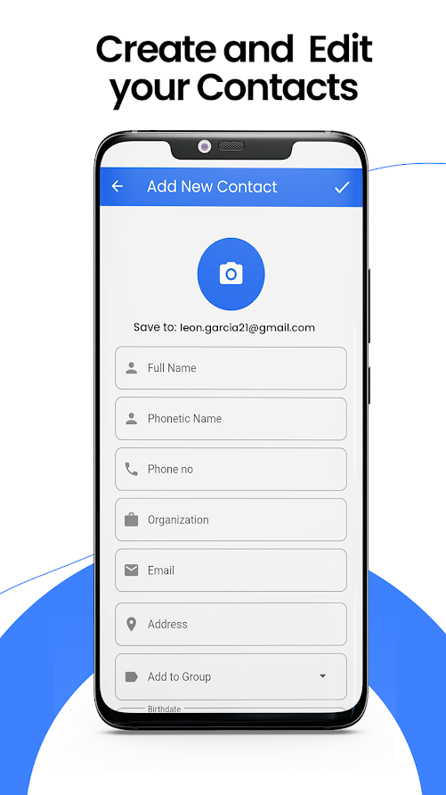 Contacts Backup : Recover , Transfer, Manage, Copy