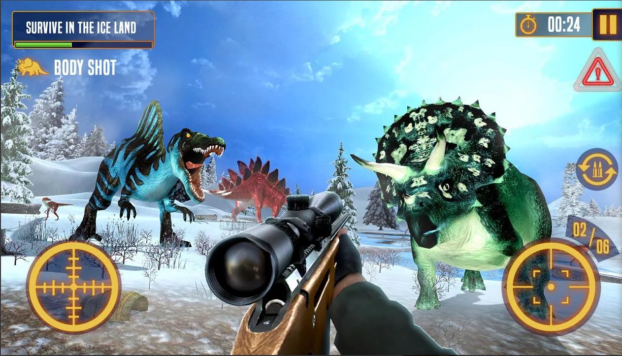 Dinosaur Hunter Survival Game
