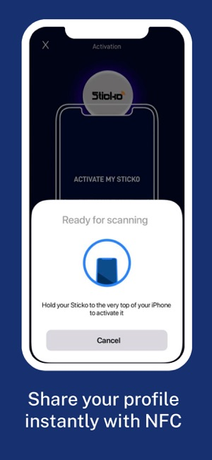 Sticko - Your Digital Business Card