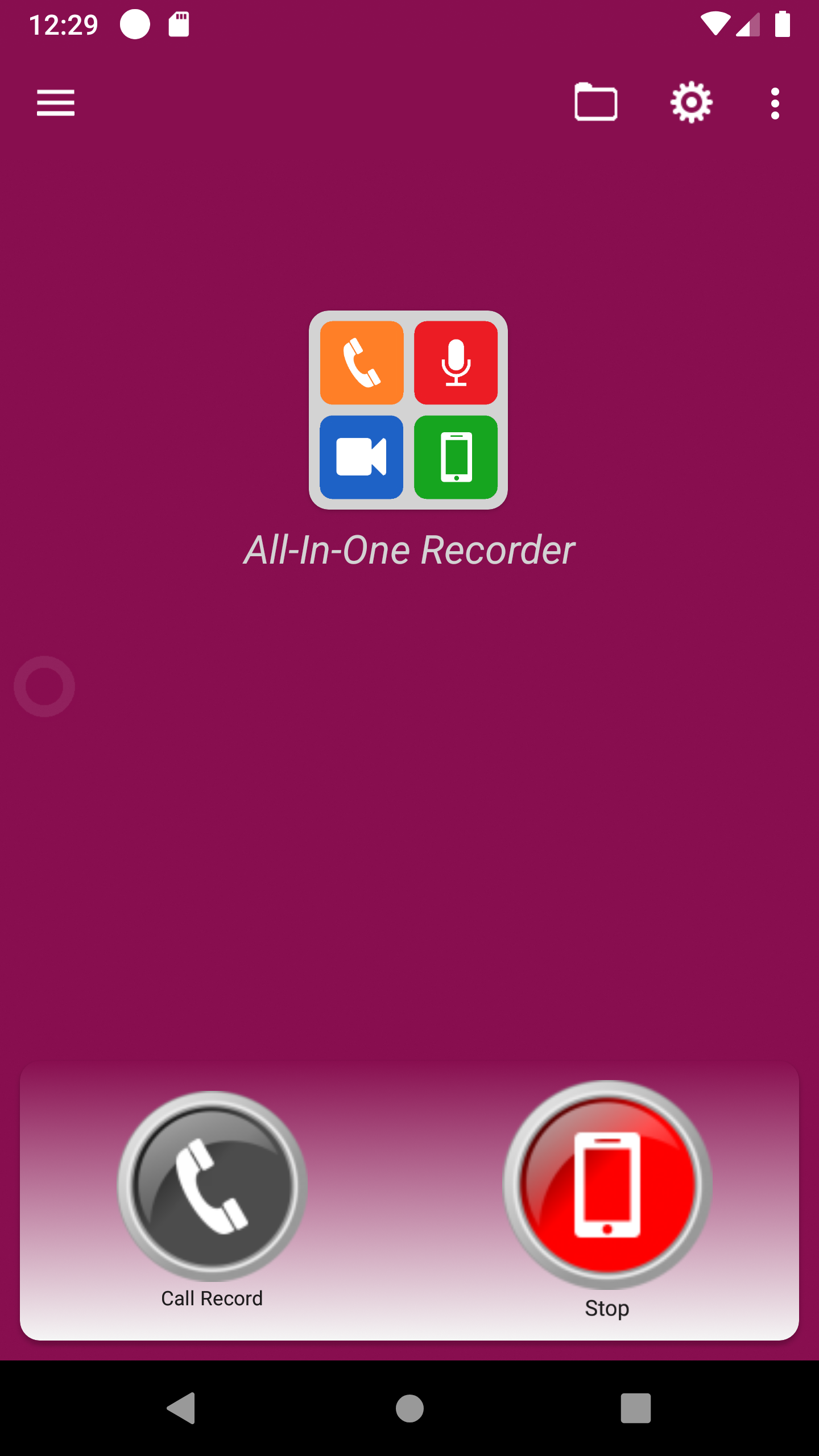 All-In-One Recorder