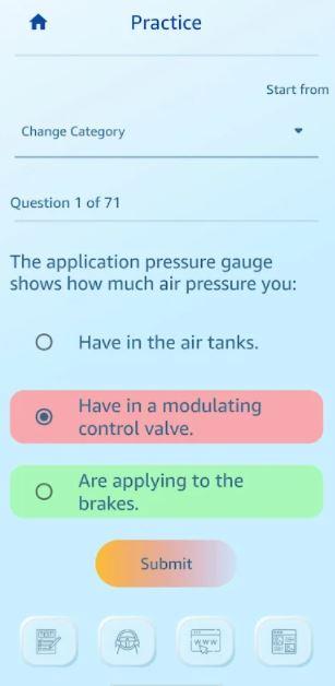 CDL Prep App