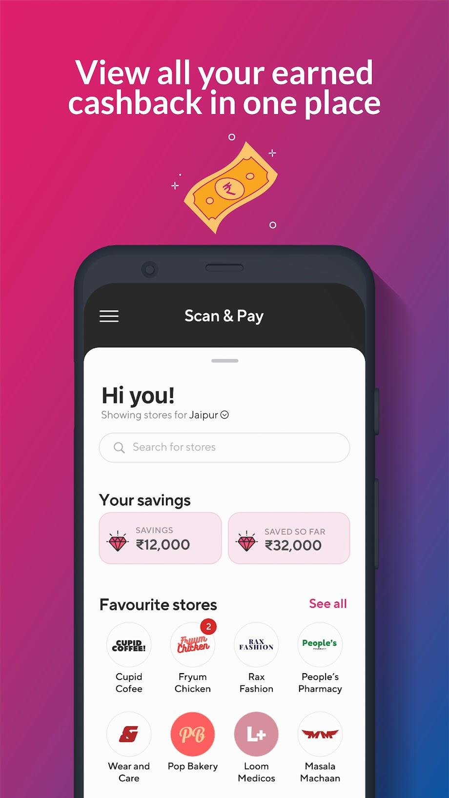 Fave | Cashback for UPI