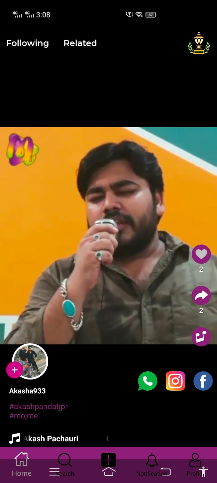 Mojme - Short Video App
