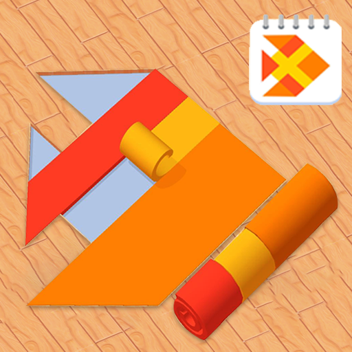 Water Color Dye Roll Puzzle Game