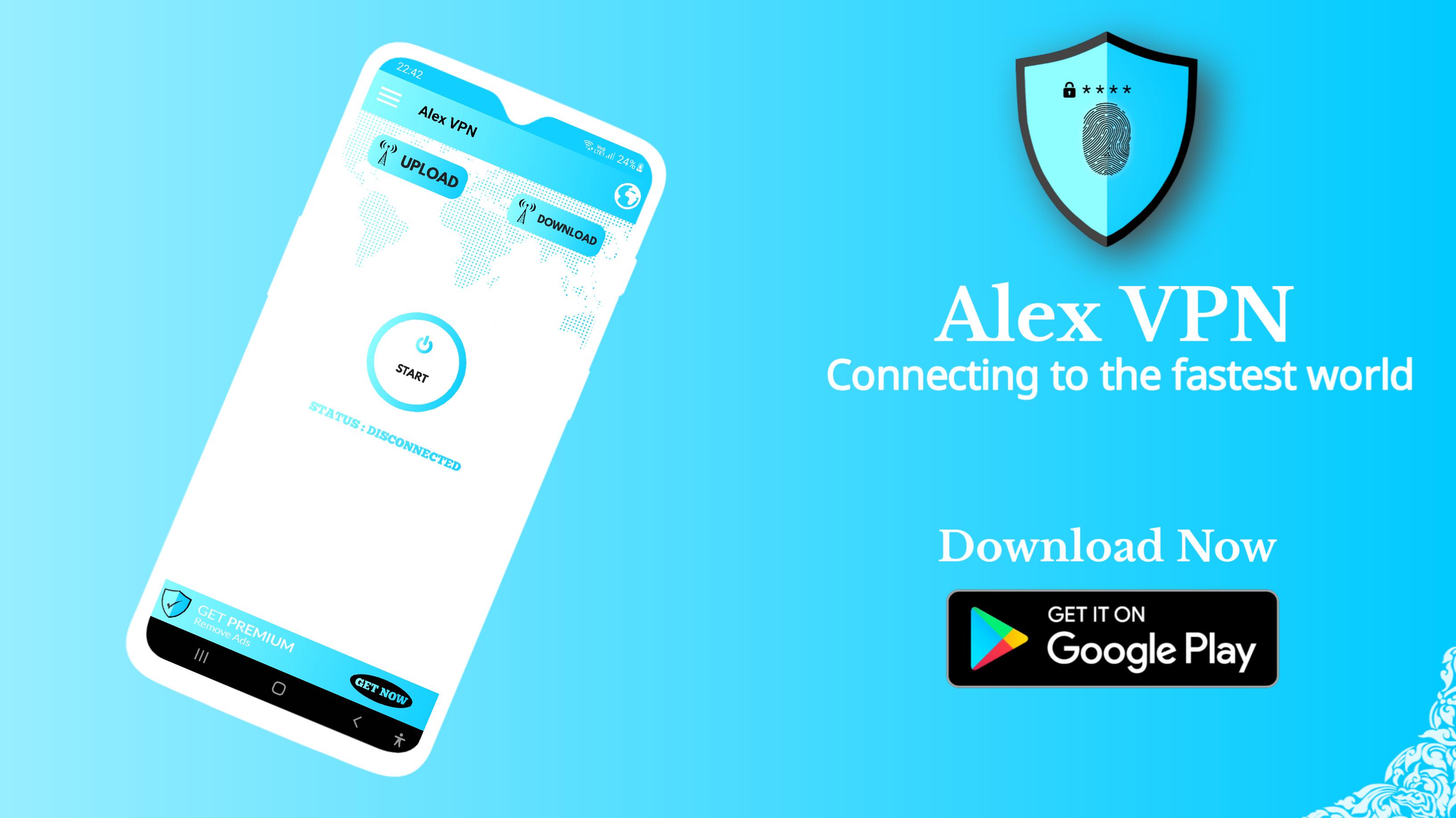 Alex VPN: Fastest & Secure VPN