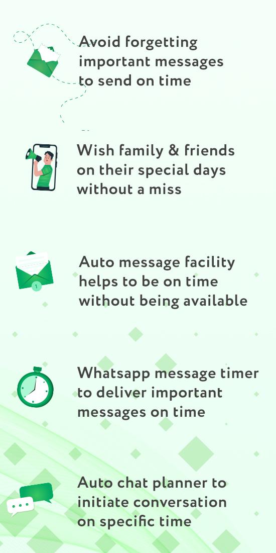 Auto Whatscheduler: Schedule WhatsApp Message App