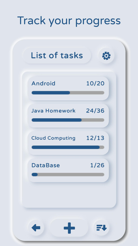 Simple Progress Tracker