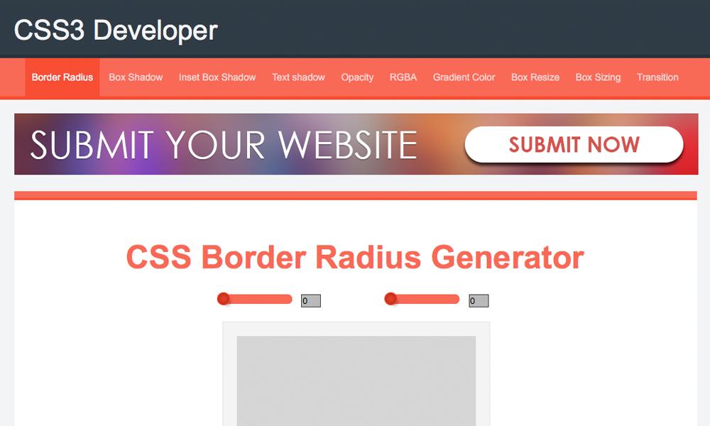 CSS3 Developer
