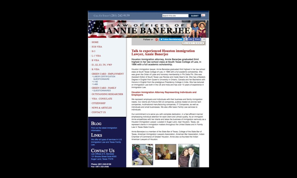 Law Offices of Annie Banerjee