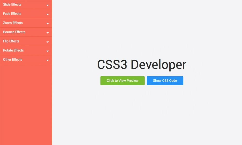 CSS Animations Generator