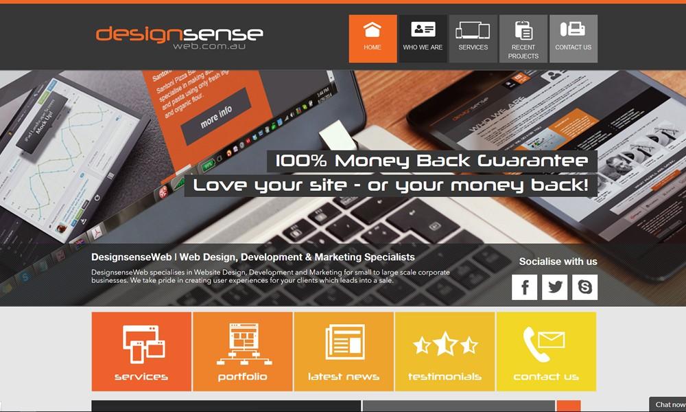 Designsense Web Design